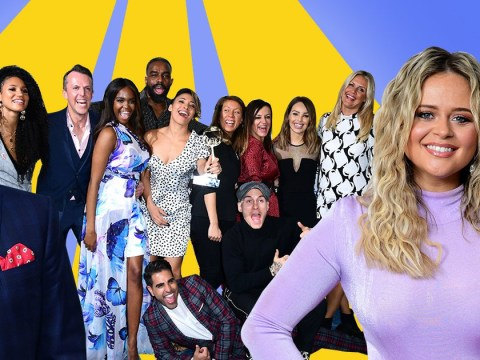 Strictly Come Dancing stars are all smiles as they beat I'm A Celeb at TRIC Awards
