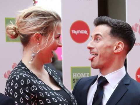 Gemma Atkinson and Gorka Marquez give us all the feels as they pull faces at Prince's Trust Awards