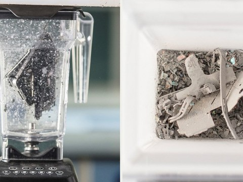 Researchers pulverized an iPhone in a blender – for science