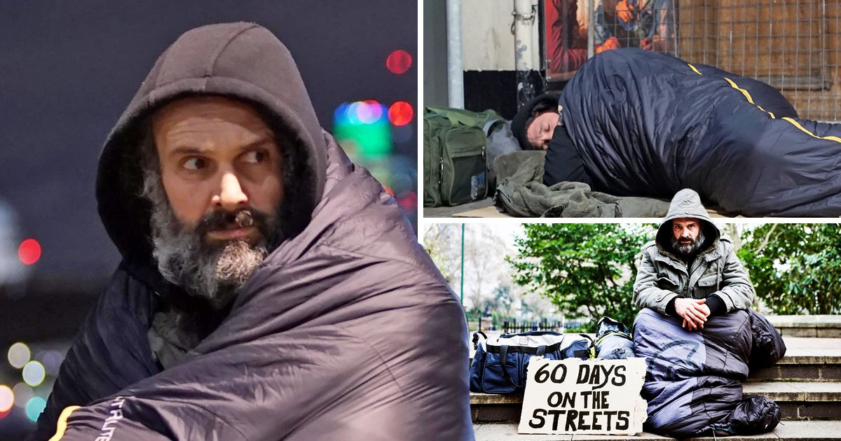 Beggars earn up to £200 a day, says ex-soldier who spent two months on the streets