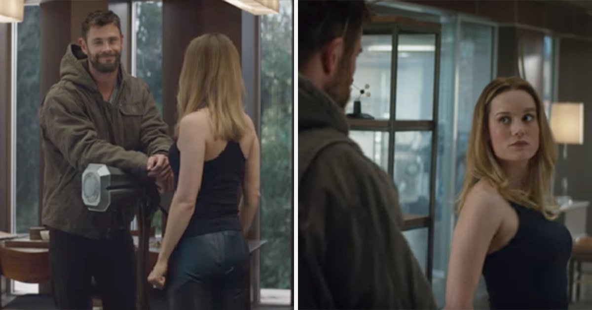 Captain Marvel meets Thor for first time in new Avengers: Endgame trailer