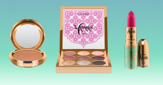 Calling all makeup lovers: MAC Cosmetics is releasing an Aladdin themed collection