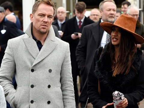 Simon Thomas makes first appearance with girlfriend Derrina Jebb after wife Gemma's tragic death