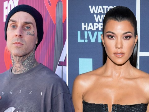 Kourtney Kardashian and Travis Barker aren't dating so we can all calm down