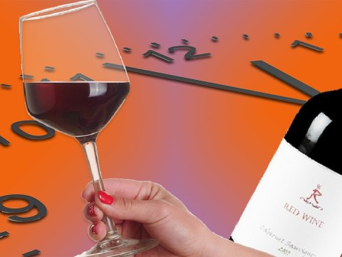 Rejoice, the official time for wine o' clock has finally been revealed