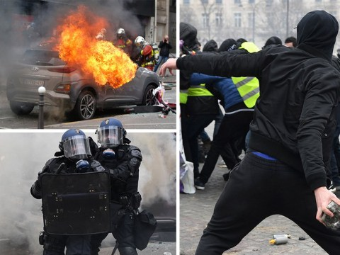 Paris rocked by violent yellow vest protests for 18th Saturday in a row
