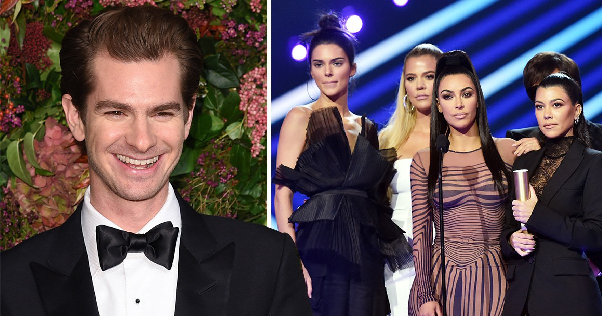Andrew Garfield brands 'Kardashian effect devastating and sick-inducing'