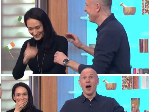 Fleabag star Sian Clifford drops F Bomb live on Sunday Brunch and viewers are left in stitches