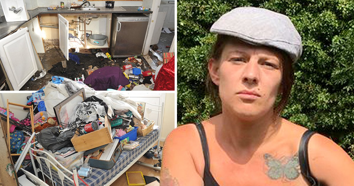 'Tenant from hell' evicted after causing £25,000 in damage