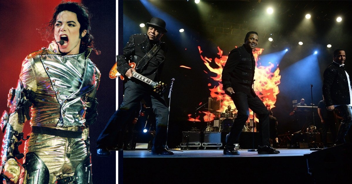 The Jacksons perform 'tribute to Michael Jackson' as they hit the stage for first time since Leaving Neverland claims