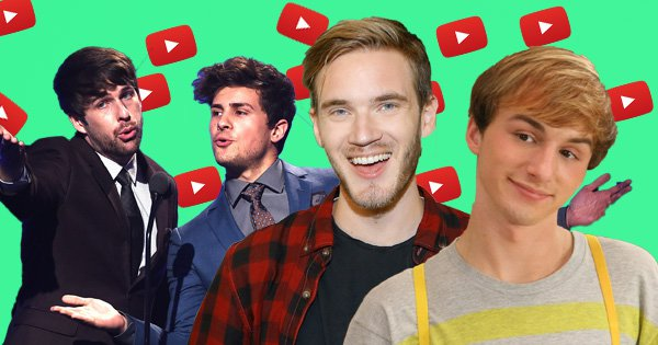 Stars who have held YouTube's most subscribed spot from Smosh to Fred as T-Series overtakes PewDiePie