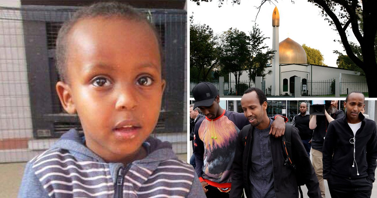 Mucaad Ibrahim, 3, named as youngest victim of Christchurch attack