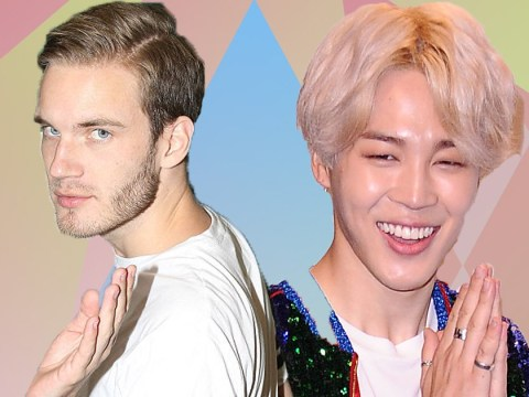 PewDiePie is a massive fan of Jimin from BTS's dimple and he wants the world to know it