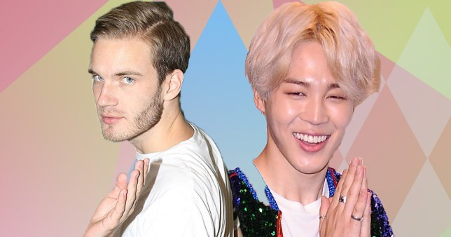 PewDiePie is a massive fan of Jimin from BTS's dimple and he wants