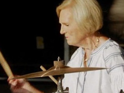 Mary Berry learning to play the drums with Rick Astley hailed 'the best thing on TV in 2019'