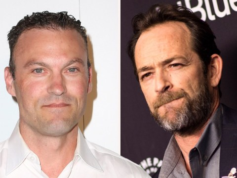 Brian Austin Green reveals he sent text to Luke Perry after 90210 star's death