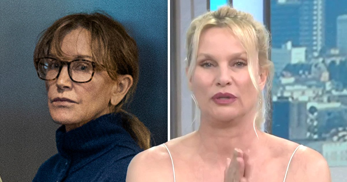 Nicollette Sheridan is 'disturbed' by Felicity Huffman's alleged involvement in 'disgraceful' college admissions scam
