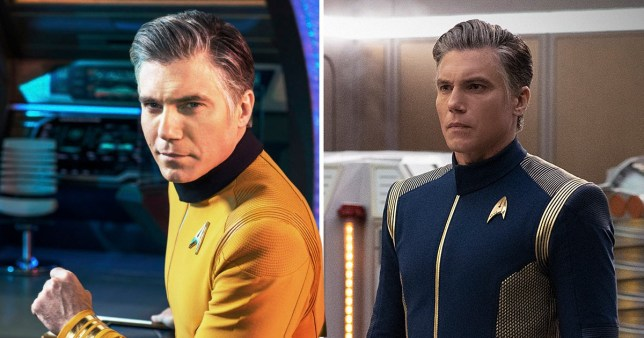 Captain Pike Star Trek: Discovery