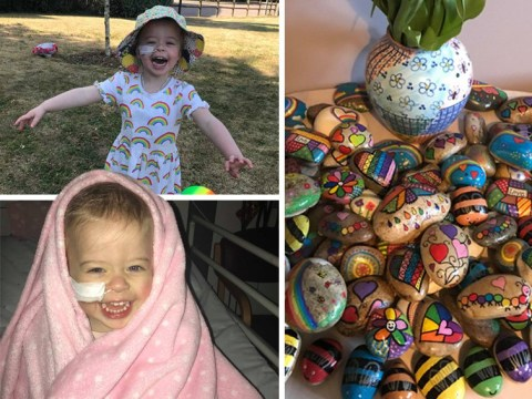 Mum who lost daughter to leukaemia asks people to paint rocks and hide them in her memory