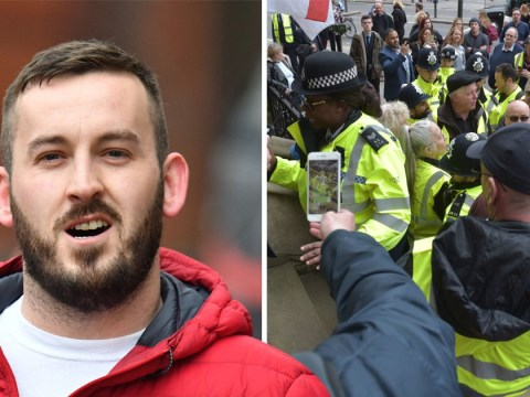 Court stormed by James Goddard supporters shouting 'Soubry is a Nazi'