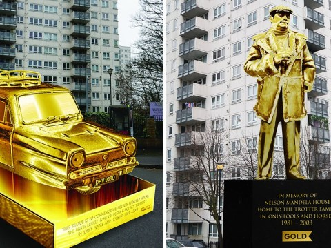 Only Fools And Horses' John Challis backs petition to have Del Boy statue outside tower block