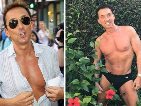 Bruno Tonioli is the biggest thirst trap as he goes gardening in just Speedos
