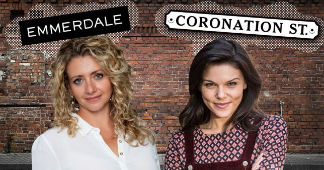 Coronation Street and Emmerdale characters maya stepney and kate connor