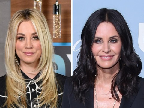 Friends star Courteney Cox heaps praise on The Big Bang Theory's Kaley Cuoco