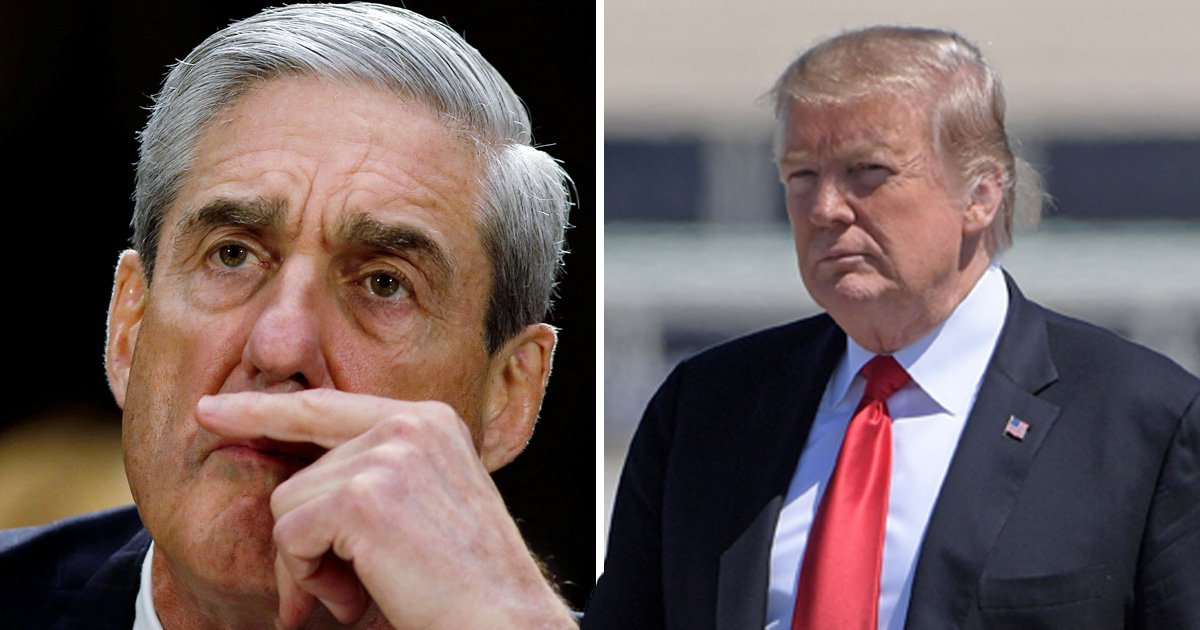 Furious Donald Trump said 'I'm f**ked' after learning of Robert Mueller probe