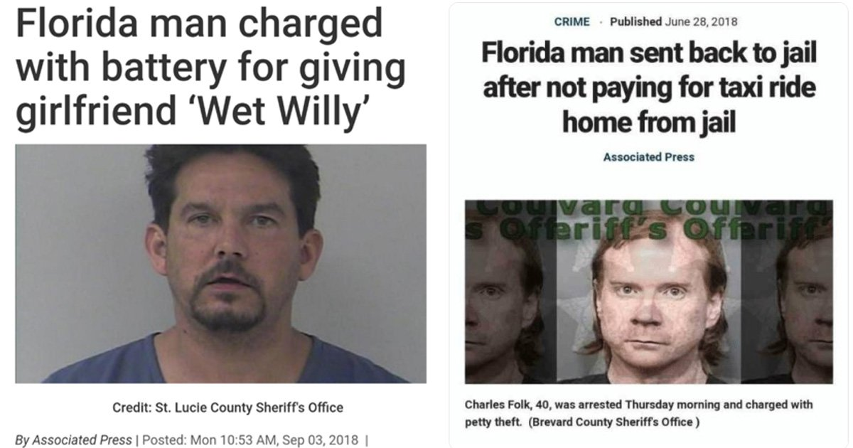 Why people are Googling Florida Man and their birthdays