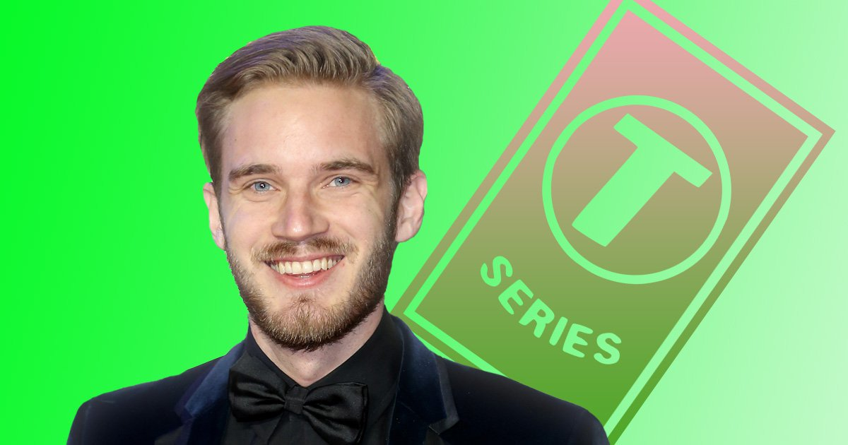 PewDiePie claws back YouTube's most subscribed spot as he beats T-Series to 91 million