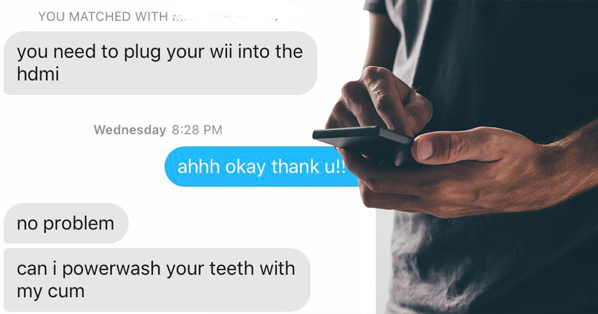 Men of Tinder rush to help woman with tech problems but one of them didn't get the memo