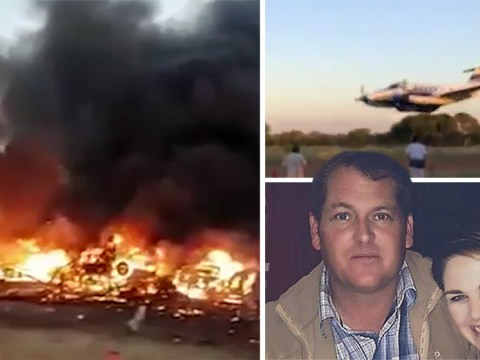 Kamikaze pilot deliberately crashed into building to kill wife who was at baby shower