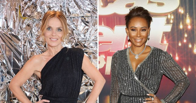 Spice Girls' Geri Horner and Mel B