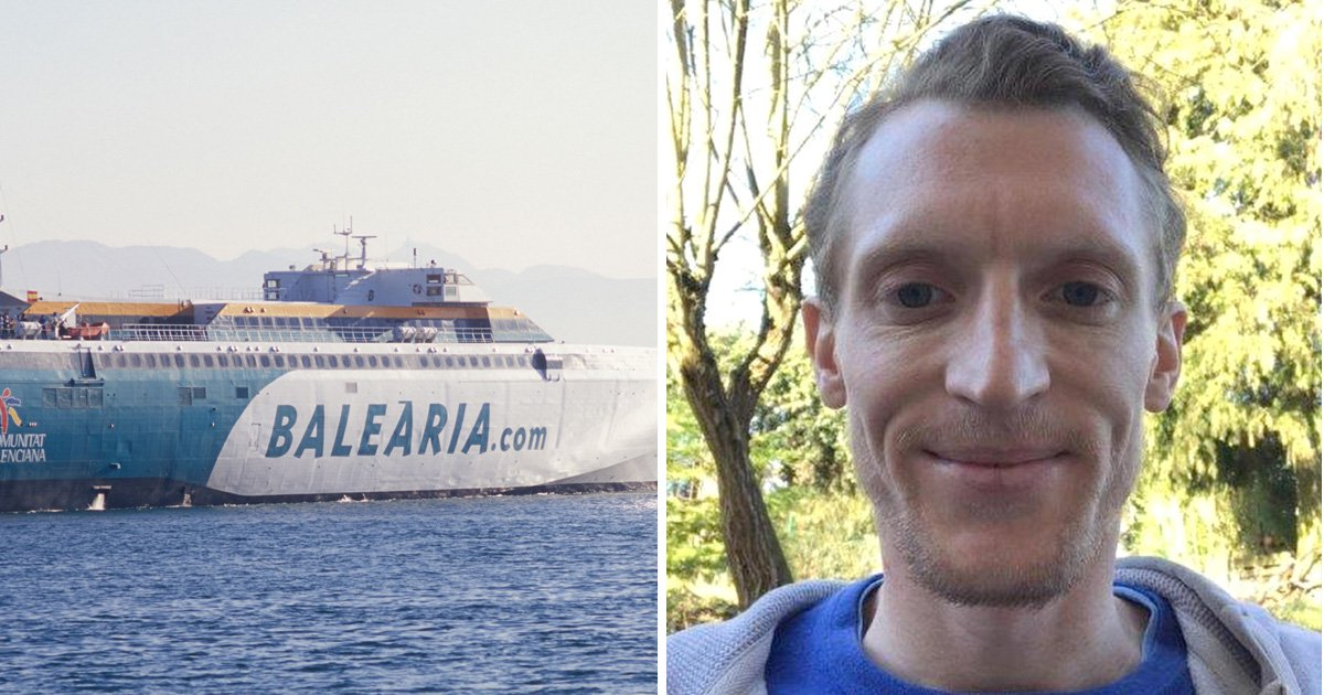 British man, 31, missing after falling off ferry from Ibiza to Majorca
