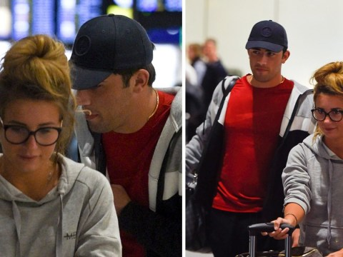 Dani Dyer and Jack Fincham ignore split rumours as they jet home from Thailand break