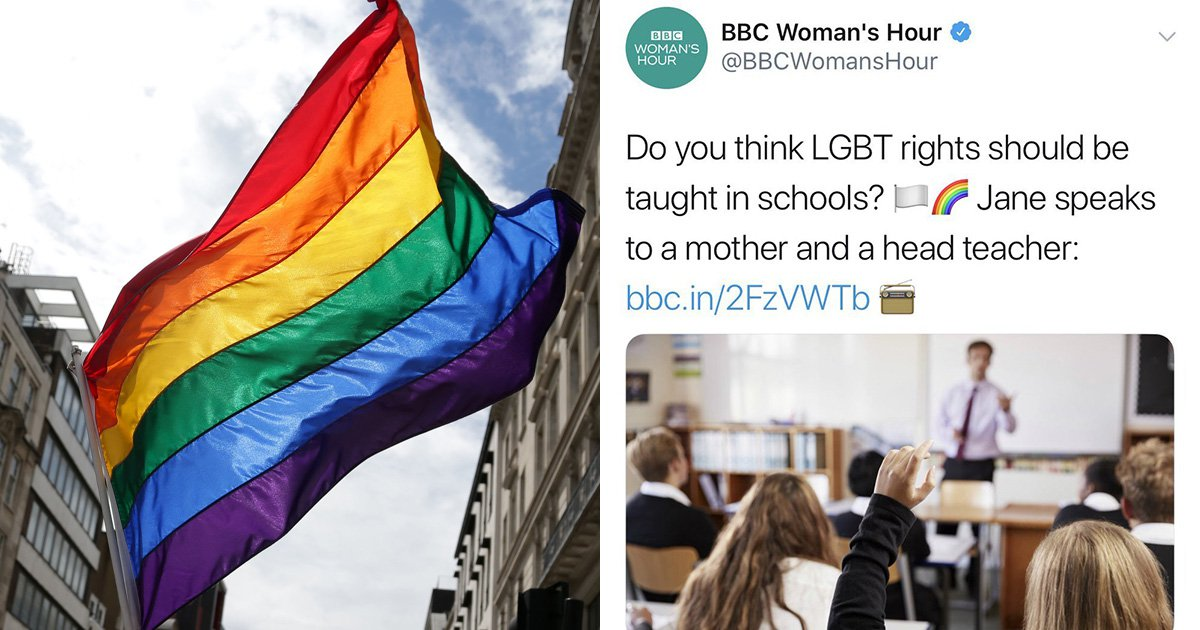 BBC under fire for asking if LGBT rights should be taught in school