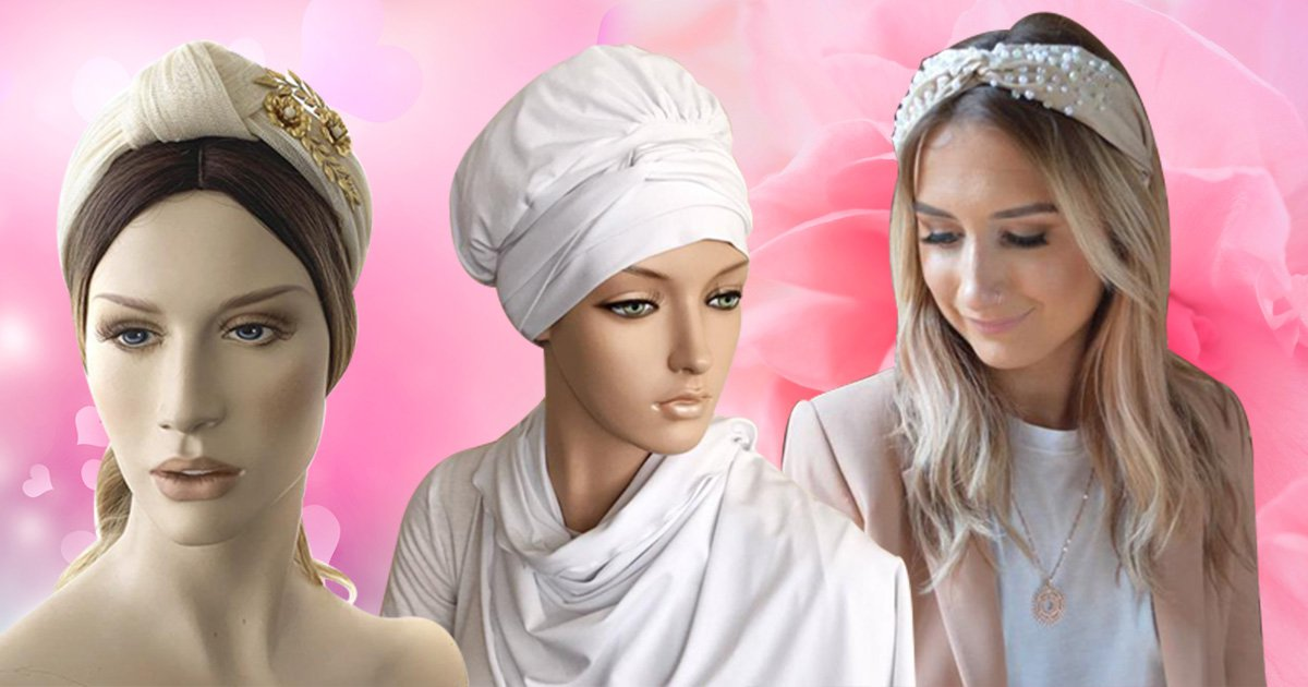 Could bridal turbans become a big wedding trend as an alternative to a veil?