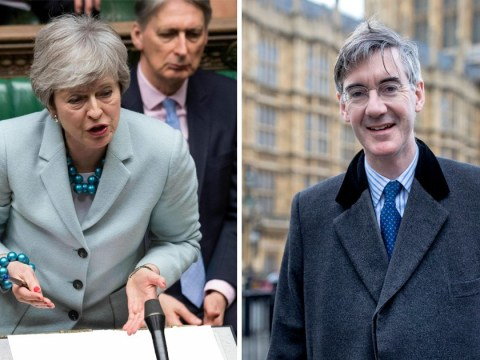 May told to say when she will quit as Jacob Rees-Mogg apologises for changing his mind