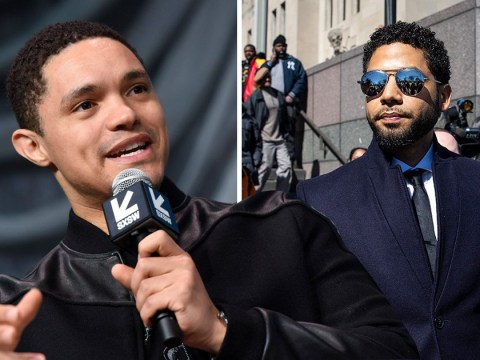 Trevor Noah and late night hosts joke about Jussie Smollett dropped charges: 'R Kelly and Felicity Huffman, you're free to go'