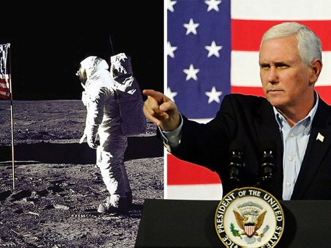 US ignites 'new space race' and vows to put men back on the moon within 5 years