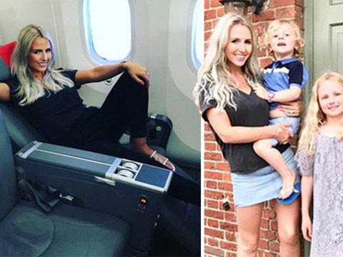 Mum always flies first class while husband and children get economy