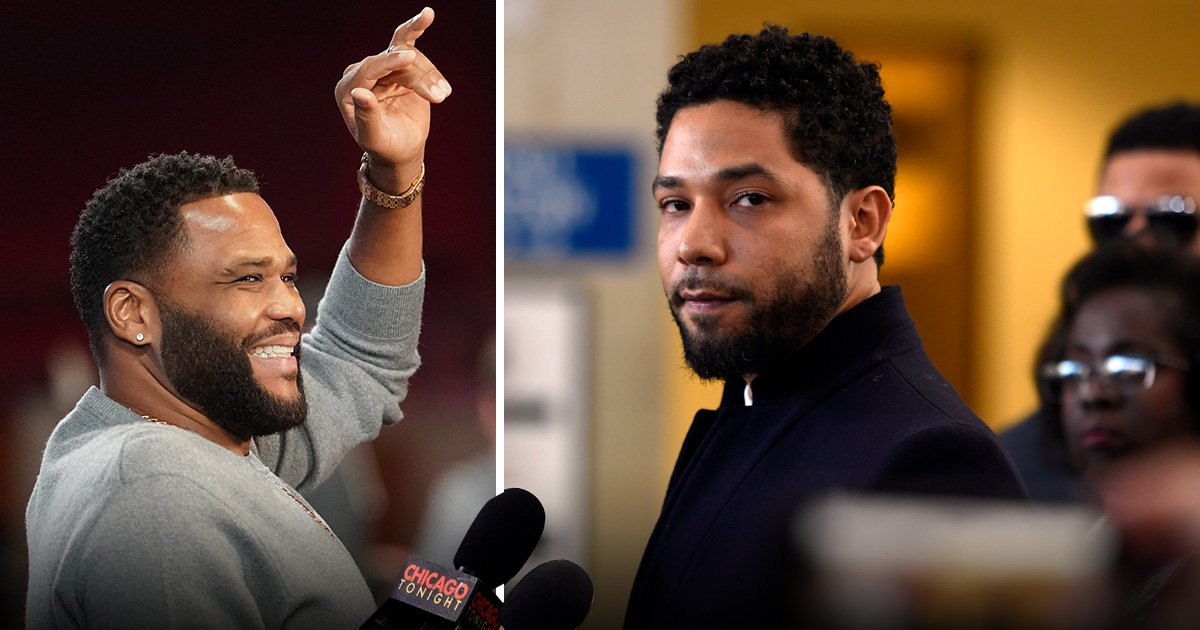 Jussie Smollett should be 'celebrated' at NAACP Image Awards says Anthony Anderson