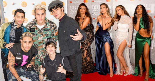 CNCO admit Little Mix crushes but are 'respectful' of their