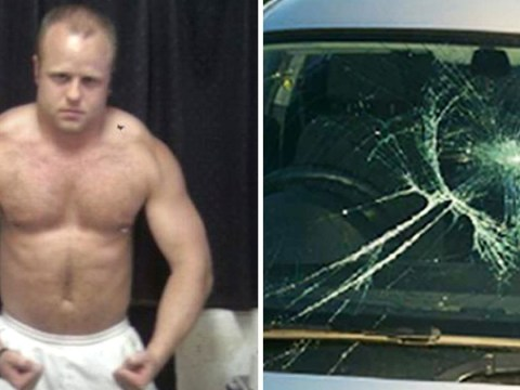 Footballer jailed for mowing down 11 young rivals after they called him 'fatty'