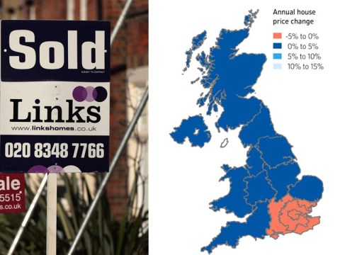 Brexit blamed for first fall in house prices for seven years