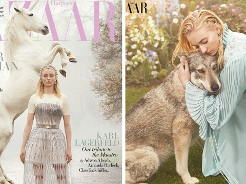 Sophie Turner graces Harper's Bazaar cover, says end of Game of Thrones is like 'a death in the family'