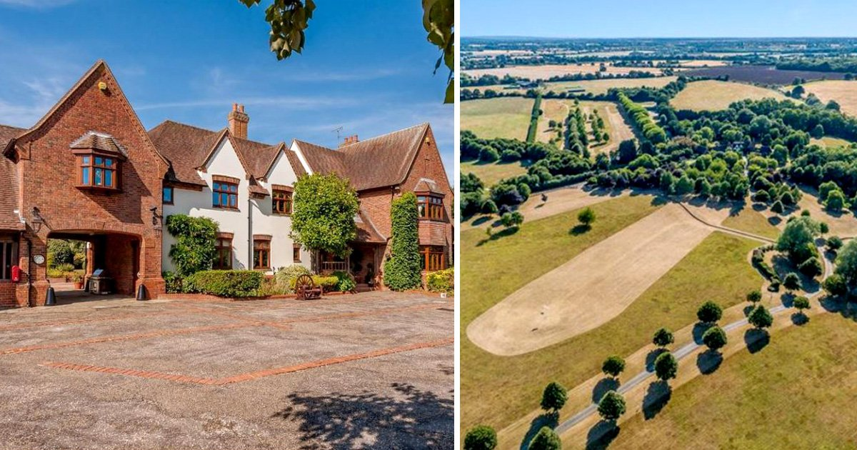 Country estate so big it could fit a private nine-hole golf course up for sale