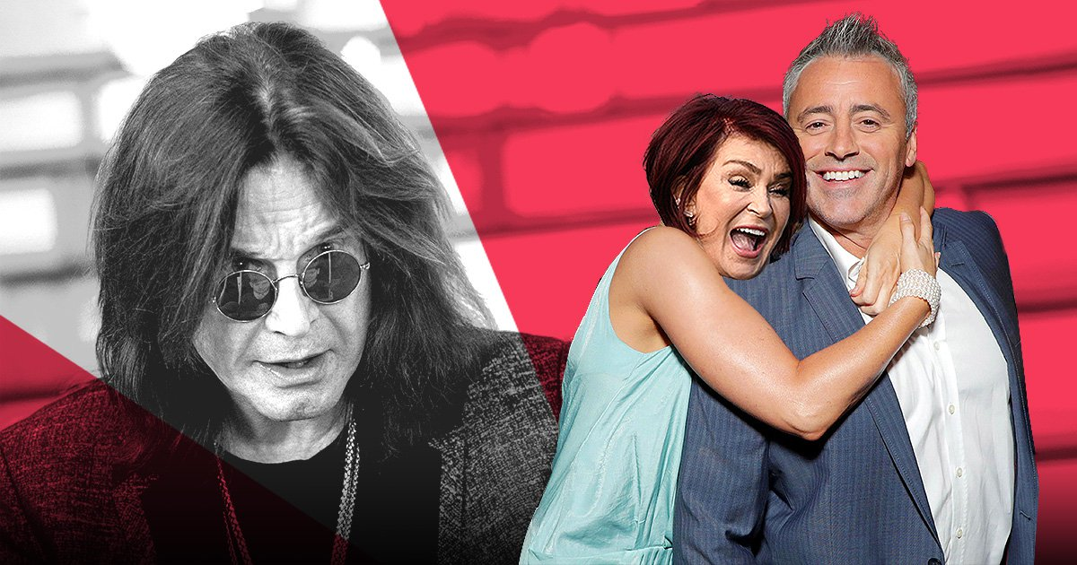 Matt LeBlanc reveals Sharon Osbourne wanted to have THREESOME with him and Ozzy rex/getty