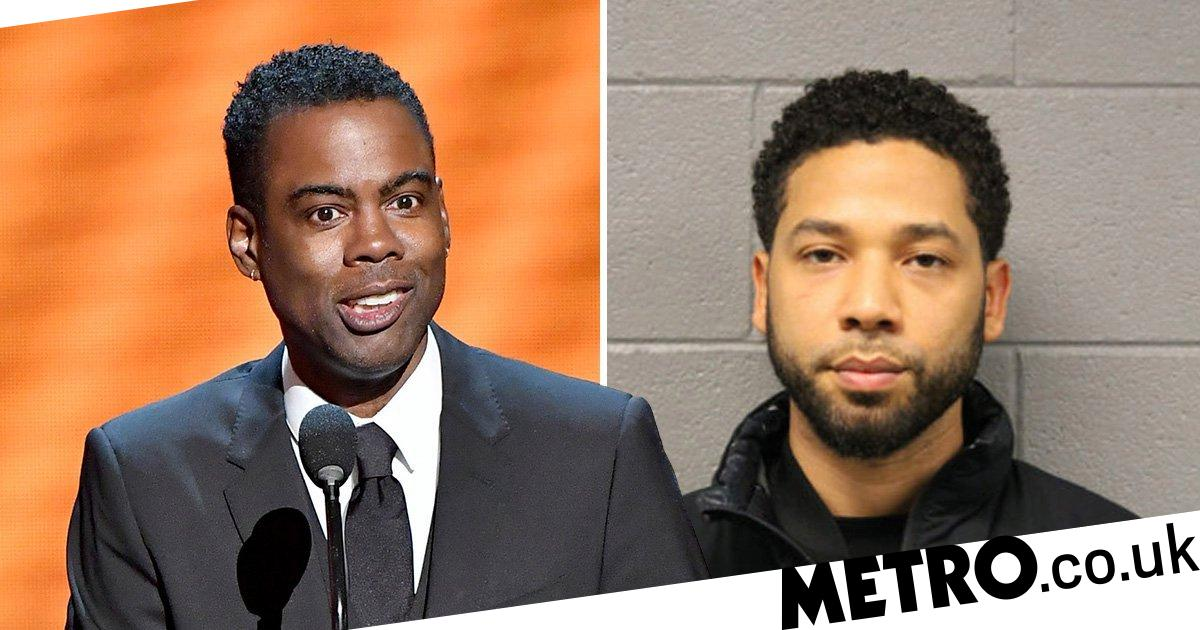 7dfa45bec9 Chris Rock rips into Jussie Smollett at NAACP Image Awards   You ain t  getting no respect from me